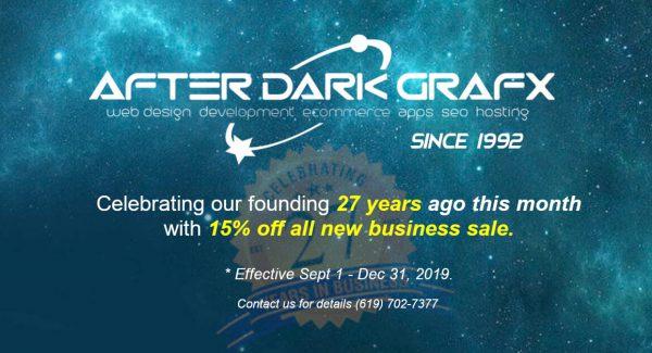 Website Design Company San Diego Over 25 Years - After Dark Grafx