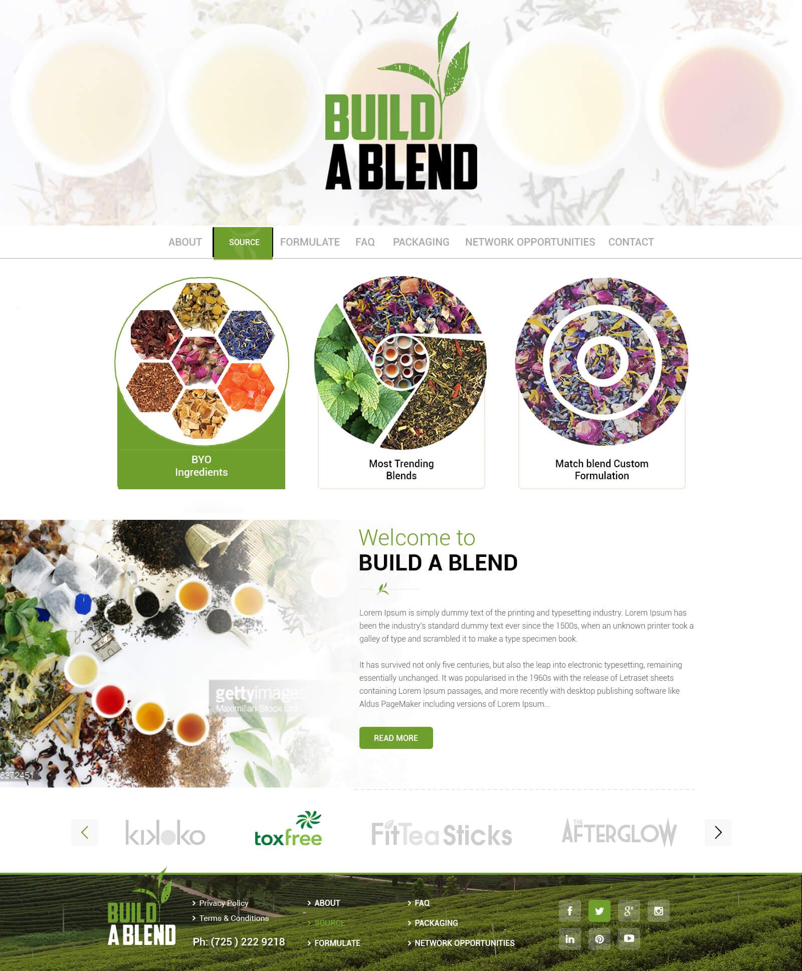 Build a Blend