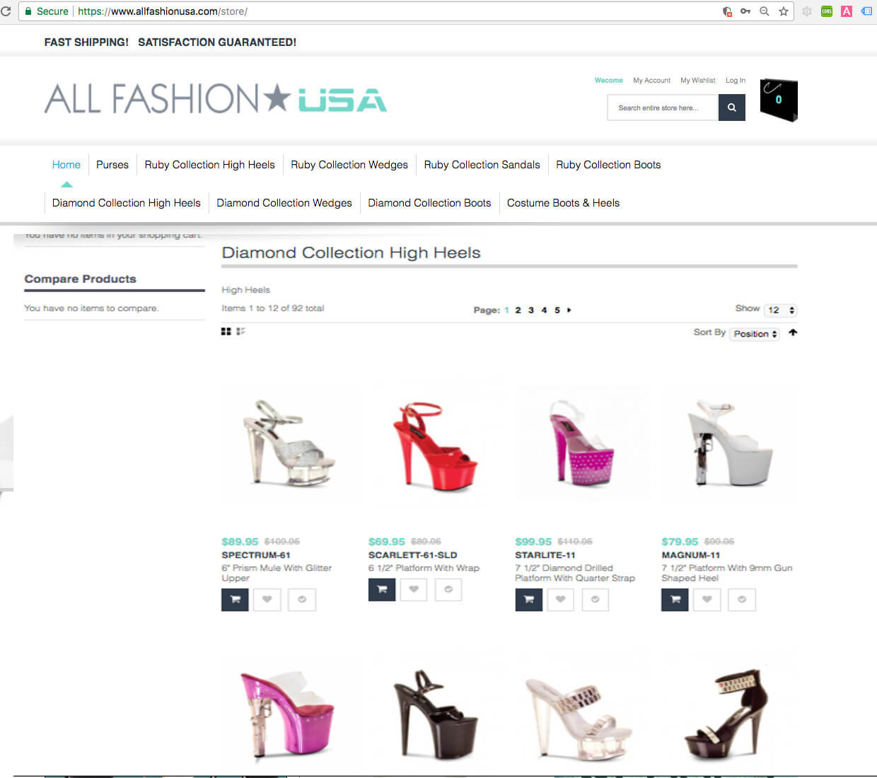 Magento Category Page