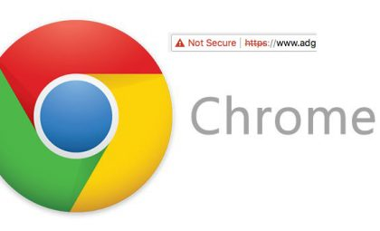 Google Chrome says my website is not secure