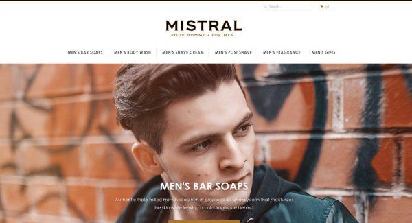 Mistral Soap Shopify Design Integration