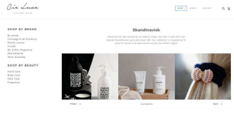 Add Side Bar to Shopify Theme - Debut