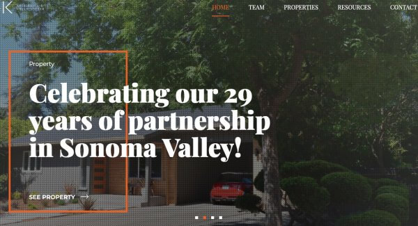 Erin and Kelly Sell Sonoma IDX Wordpress Website Design