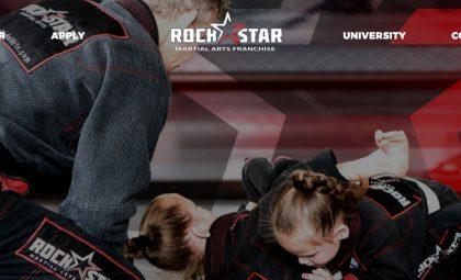 RockStar Martial Arts - Website Design by After Dark Grafx