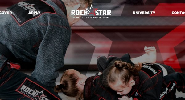 RockStar Martial Arts - Website Design by After Dark Grafx