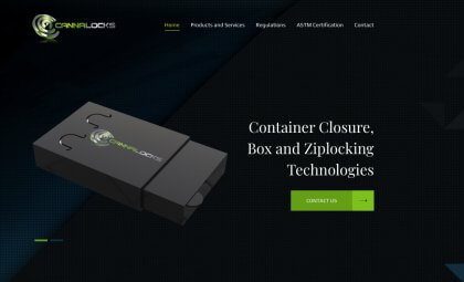 Affordable Website Design Services San Diego - Cannalocks Wordpress Project by After Dark Grafx