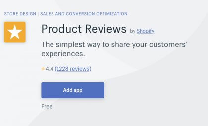 How to Add Product Reviews Shopify Product Reviews App