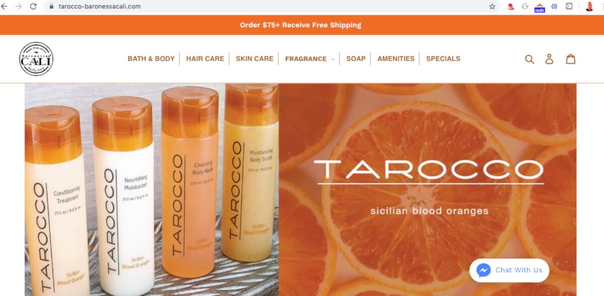 Shopify Expert Developer - Tarocco Baronessa Cali Web Design After Dark Grafx