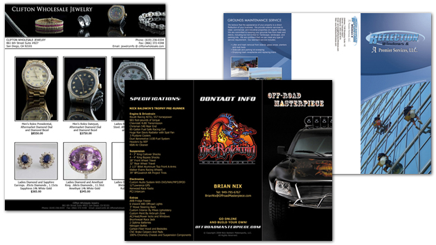 Brochure Design San Diego
