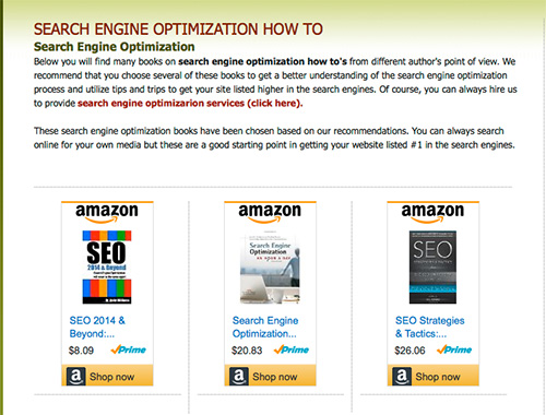 Seo Books How To