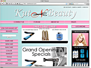 Beauty Store Ecommerce Design